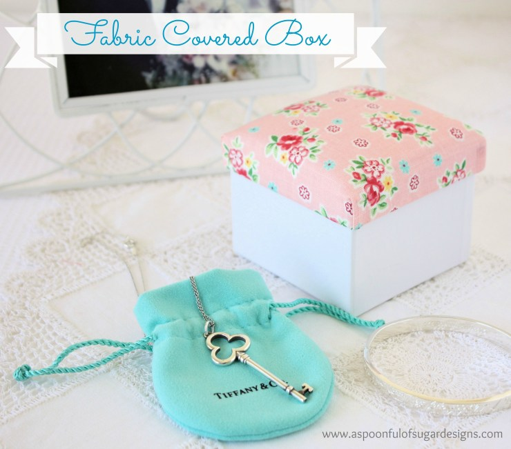 Fabric Covered Box 5