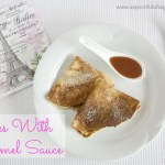Crepes with Caramel Sauce
