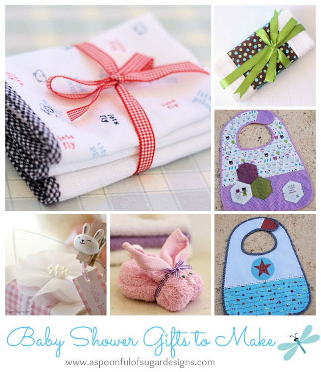 Baby Gift Baskets To Make : Baby shower gifts to make a spoonful of sugar