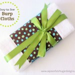 Burp Cloths to Sew
