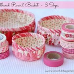 Gathered Round Basket – 3 Sizes