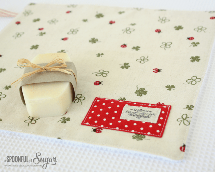 Face Cloth with linen