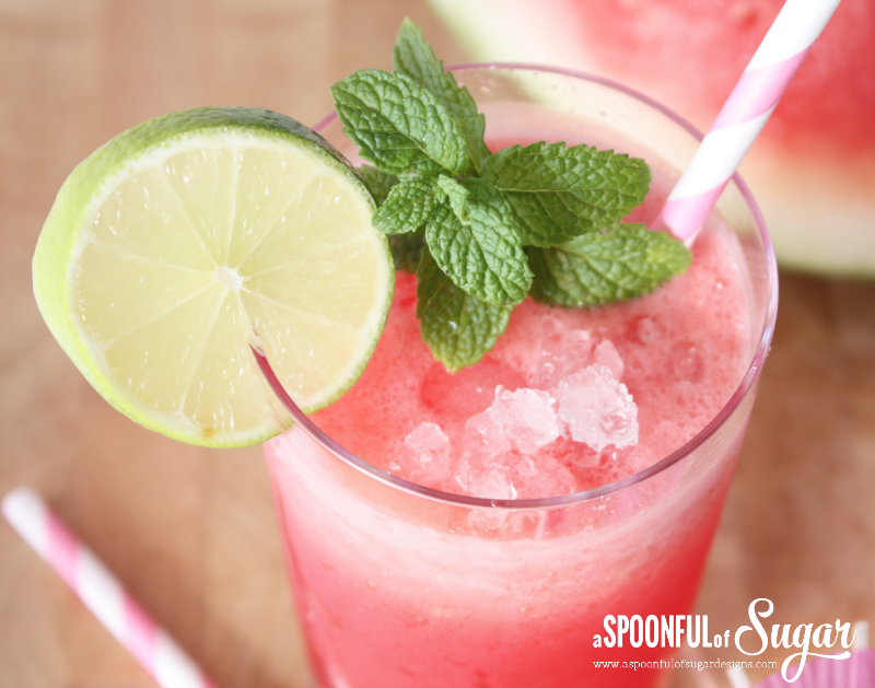 Watermelon Coconut Drink 1