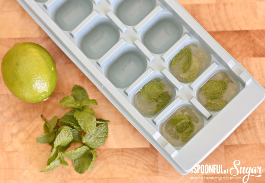 Mint and Lime Ice