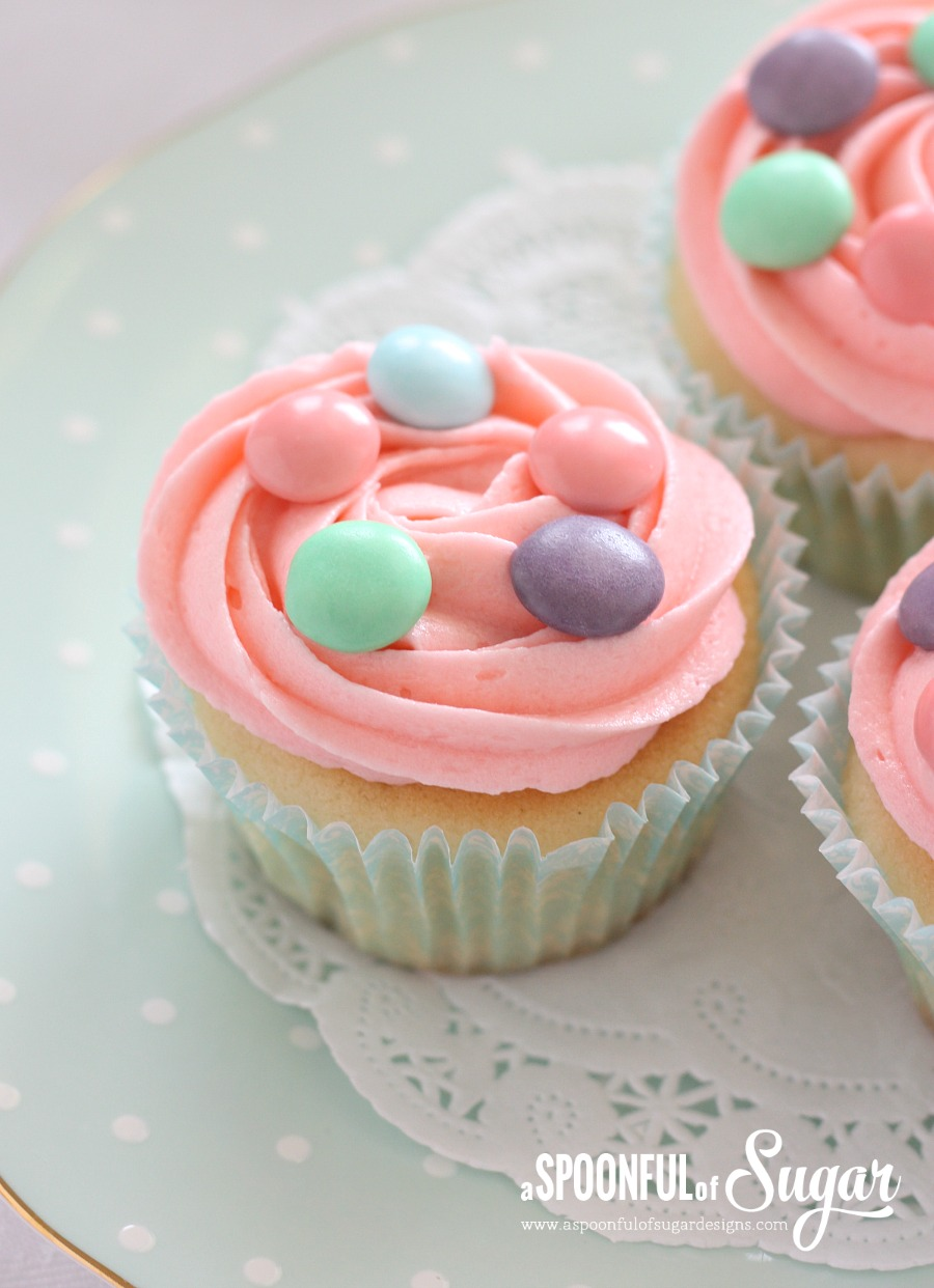 Easter Cupcake Recipe - A Spoonful of Sugar