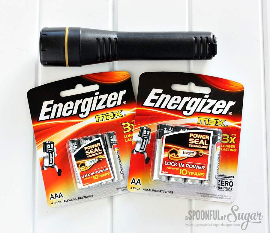 Use energizer Max in your torch for up to 10 years power.