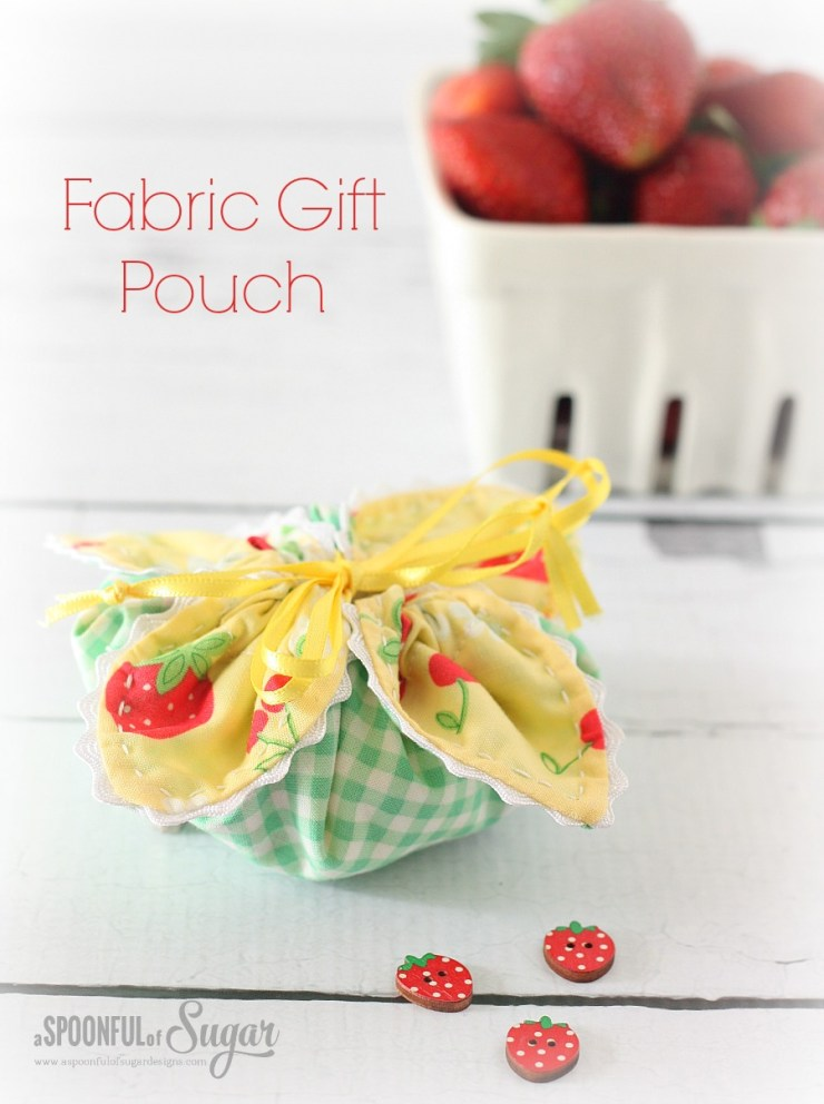 Fabric Gift Pouch 8