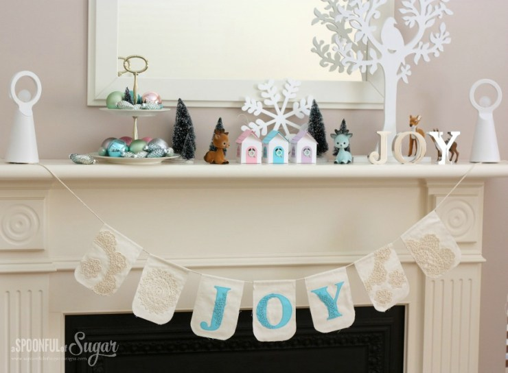 Christmas Mantle 2