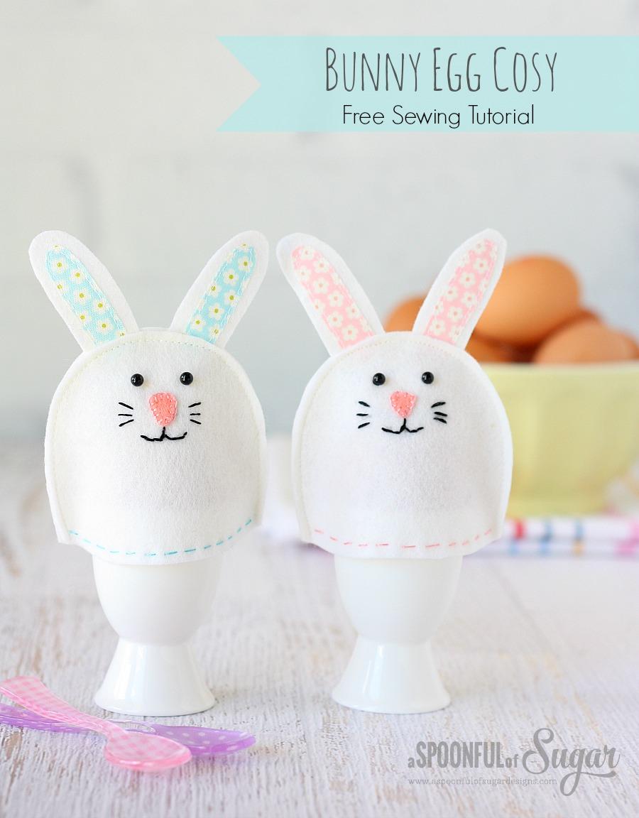 bunny egg cosy tutorial a spoonful of sugar