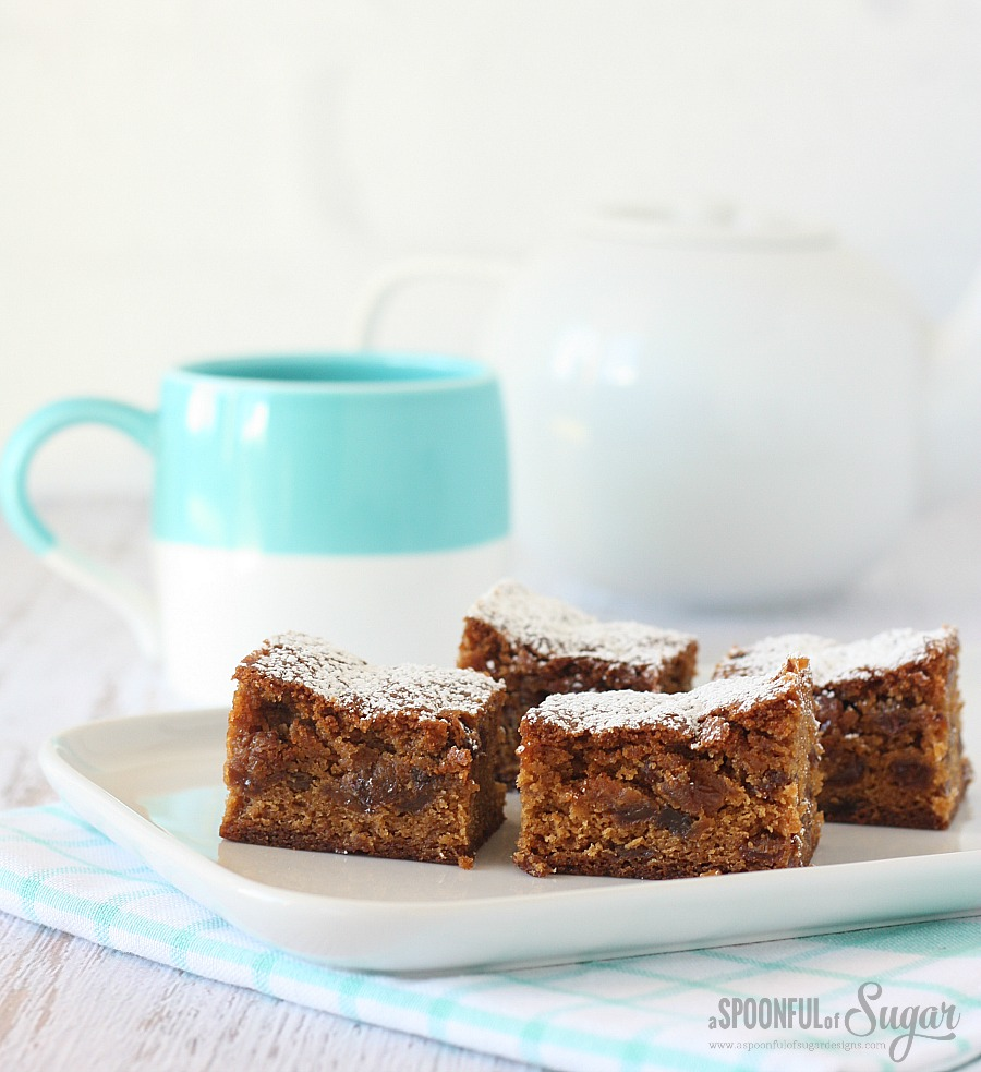 Sultana Slice recipe by A Spoonful of Sugar