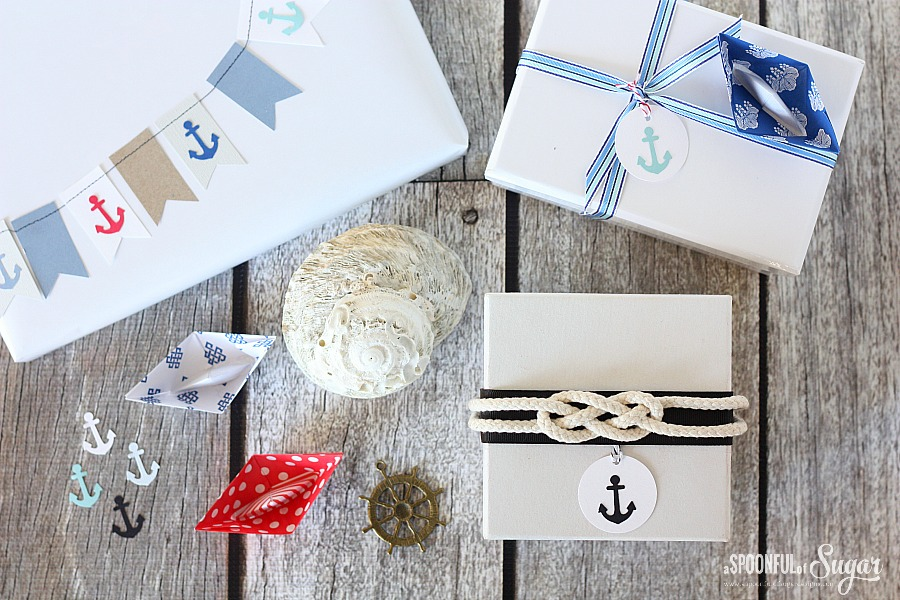 Nautical Gift Wrap 5