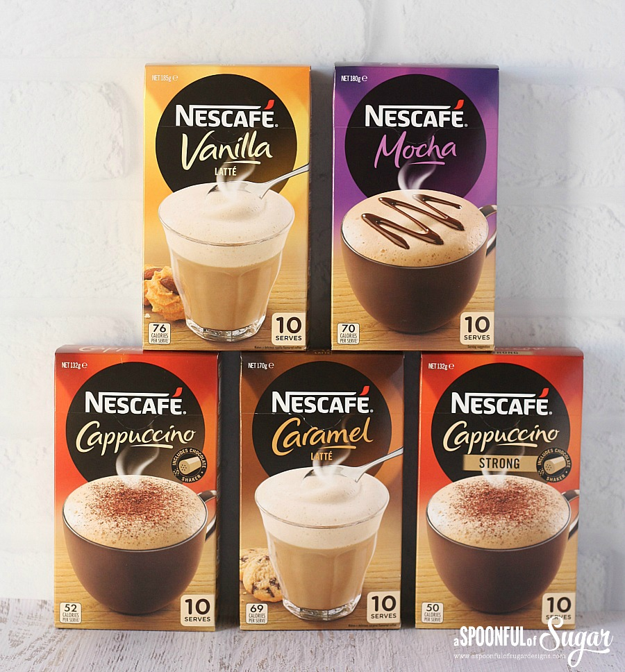 NESCAFÉ Café Menu