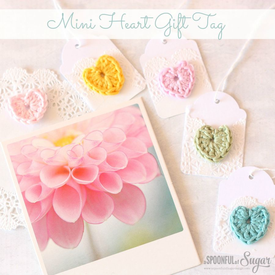 Mini Heart Gift Tag small