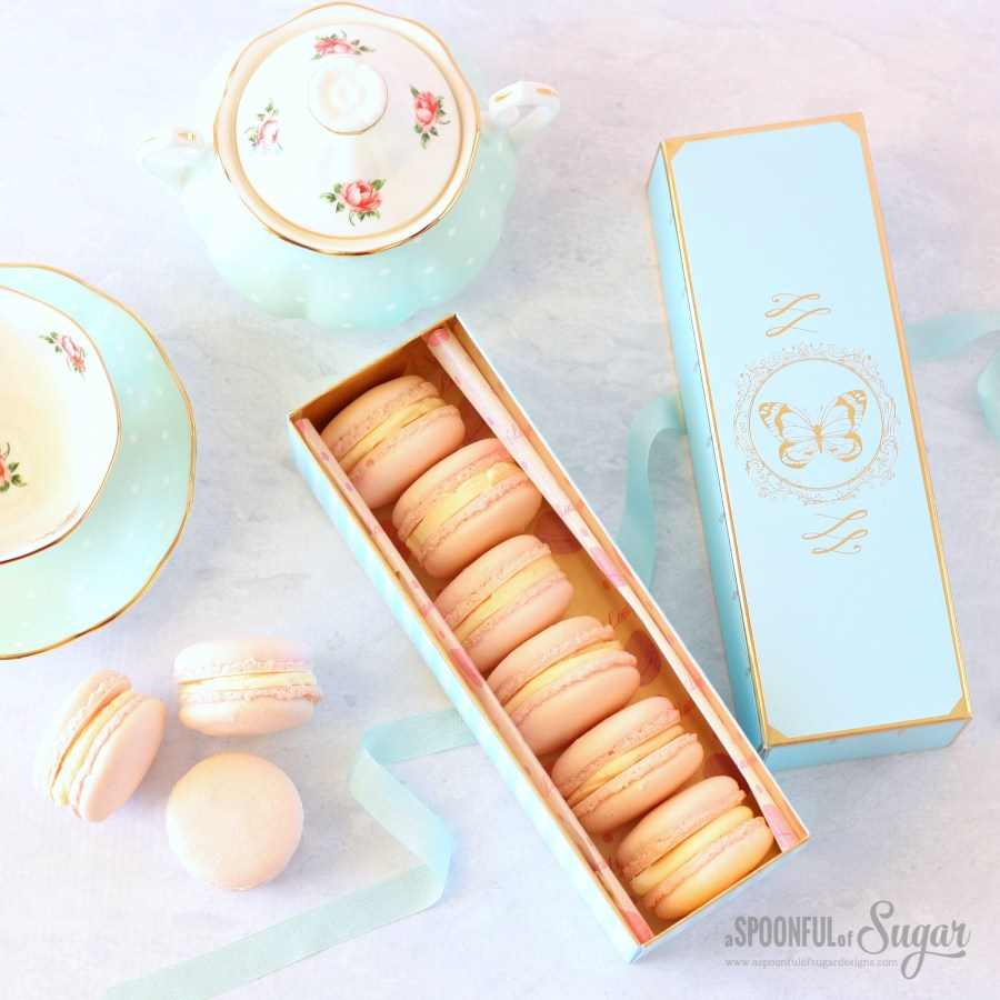 Vanilla Macarons by A Spoonful of Sugar