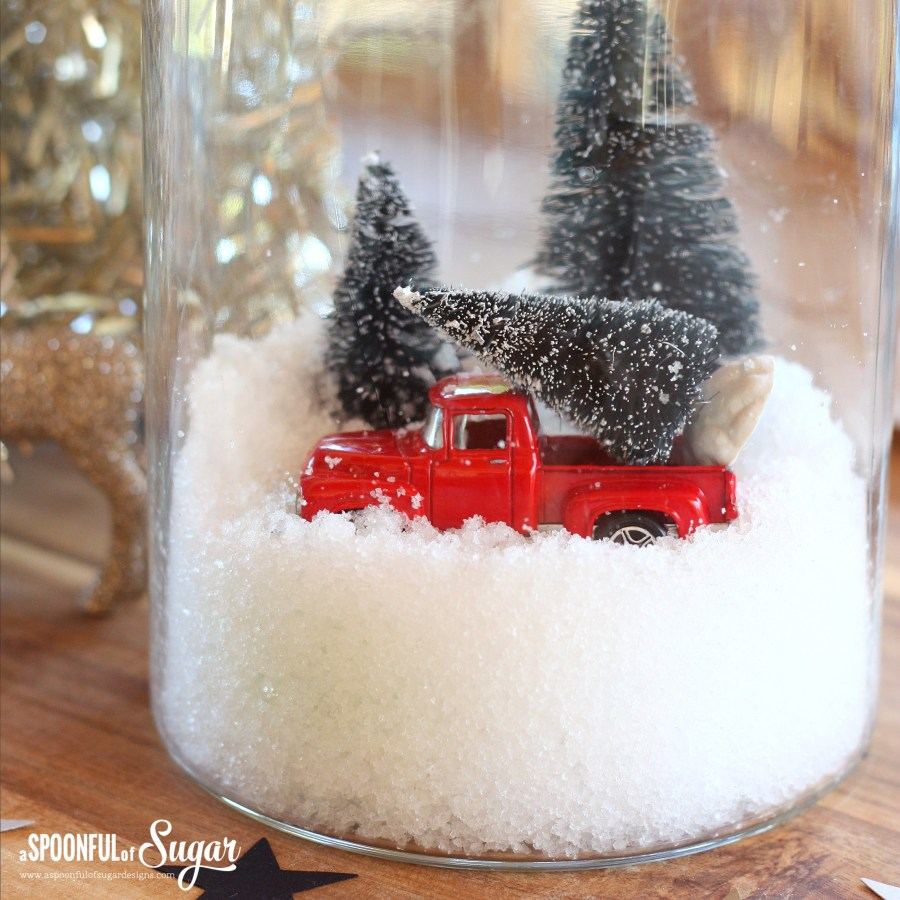 DIY Snow Jar