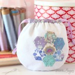 Pretty Liberty Drawstring Pouch