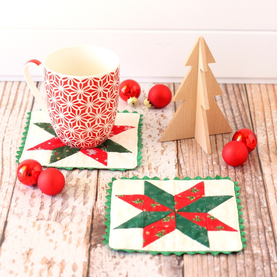 Christmas Star Coasters