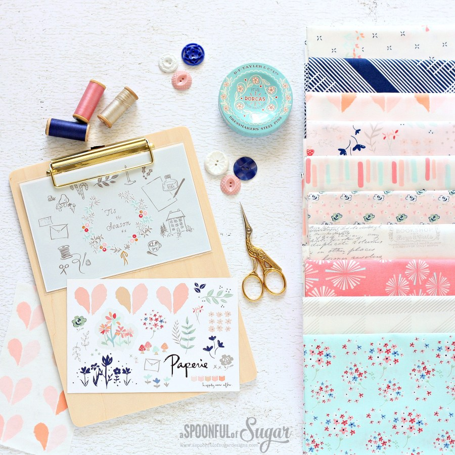 Paperie Fabric by Art Gallery Fabrics