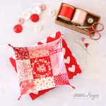 Patchwork Fabric Tray 4