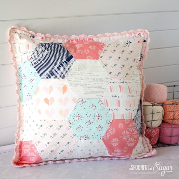 Retro Pillow - Spoonful Of Sugar