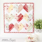 High Tea Blog Tour: Heart of the Home Mini Quilt + Hexie Sewing Kit