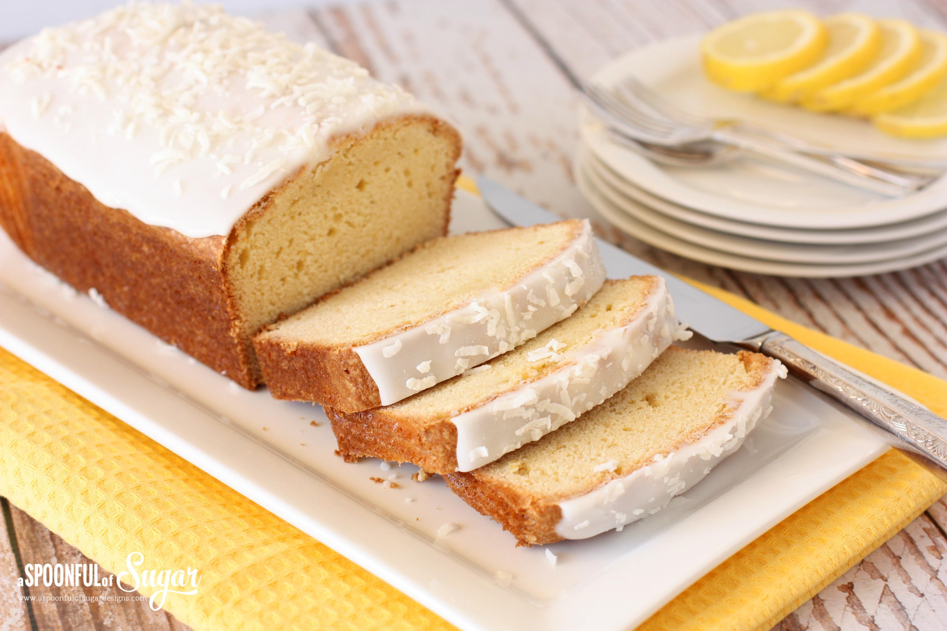 Martha Stewart Coconut Lemon Pound Cake