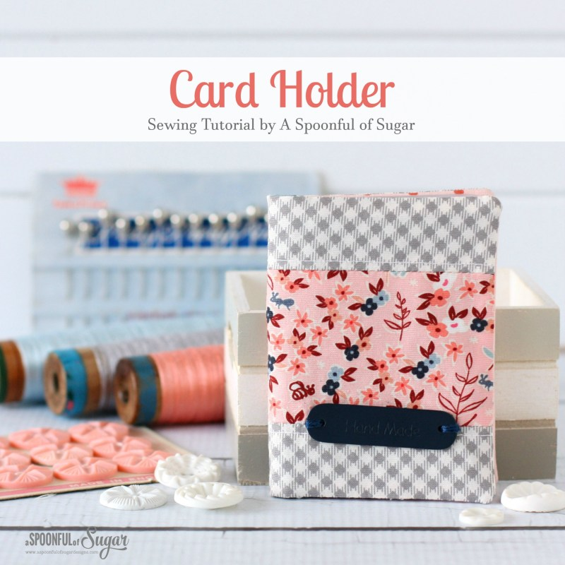 How to Sew a Card Holder