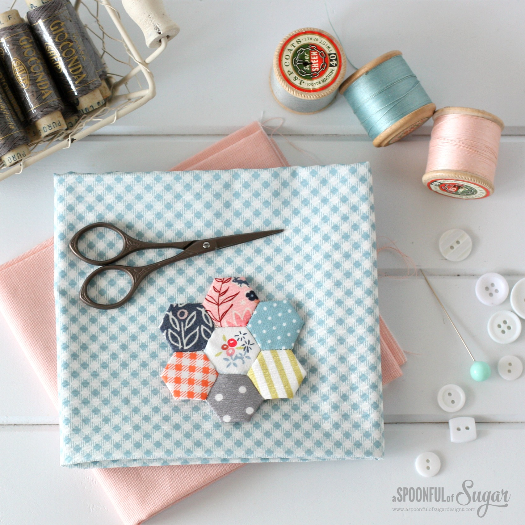 How to Sew a Card Holder - A Spoonful of Sugar