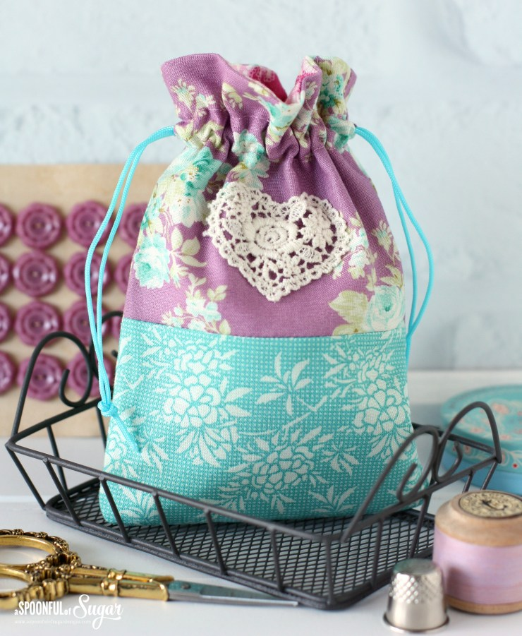 Harvest Drawstring Bags by A Spoonful of Sugar