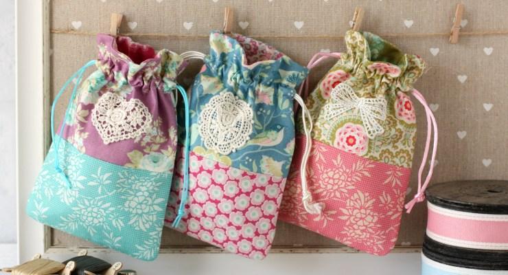 Harvest Drawstring Bags