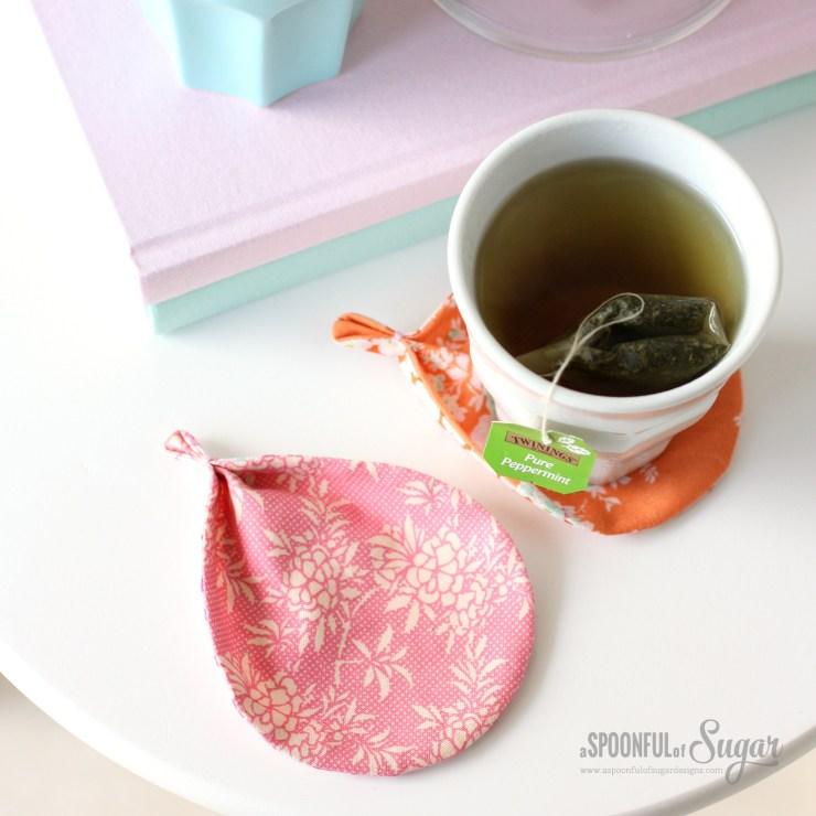 Harvest Leaf Coaster by A Spoonful of Sugar