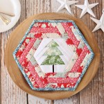 Hexie Holiday Placemat