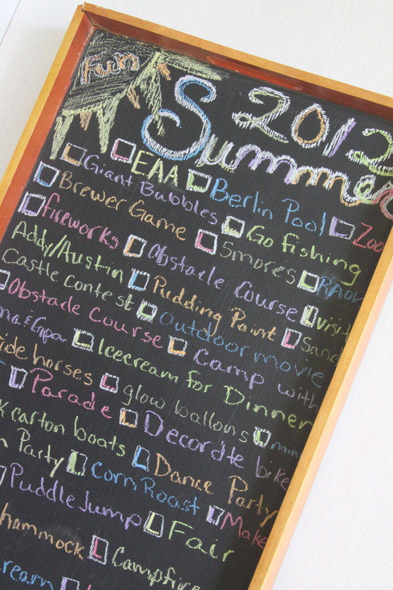 Keep The Kids Busy All Summer Long With A Summer Fun List