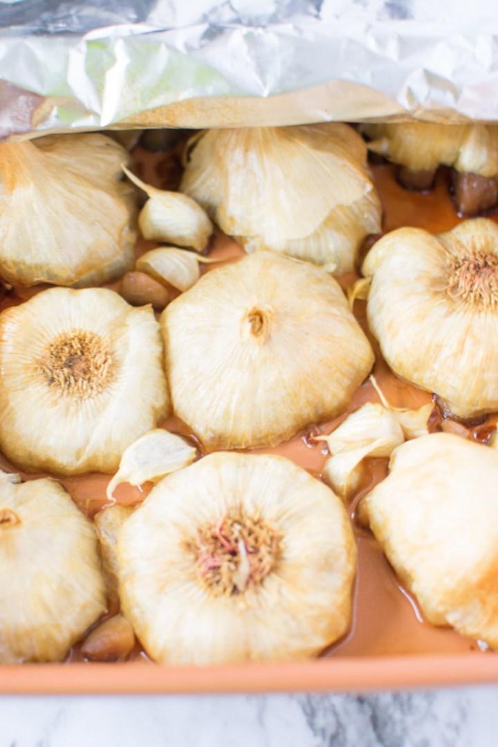Garlic when done | asprinkleandasplash.com