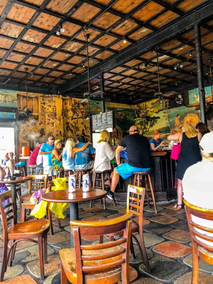 The Bull bar in Key West