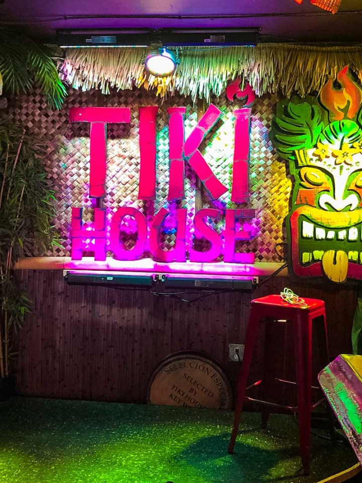 Tiki House sign