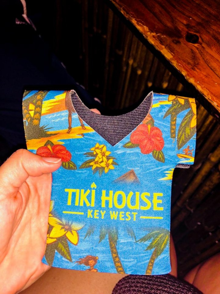 Tiki House beer cookie