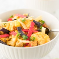 Casserole in bowl