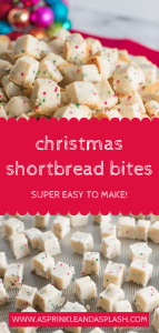 Christmas Shortbread Bites Pin