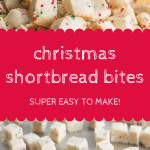 Christmas Shortbread Bites Pin