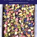 Smoked sausage sheet pan meal pin 3