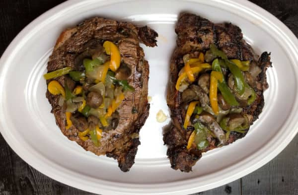 Cajun Marinated Rib Eye Steaks