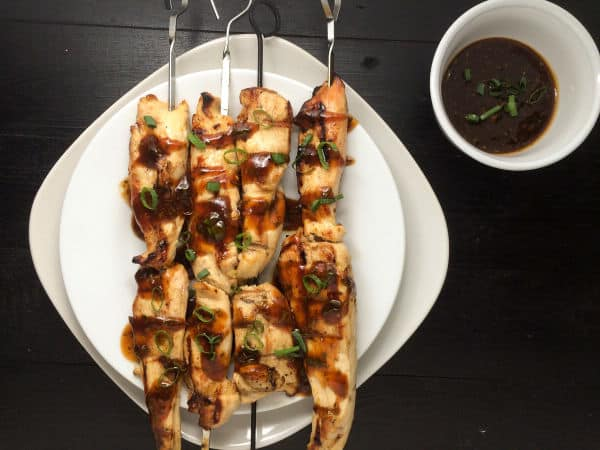 Chicken Skewers With Asian Awesome Sauce