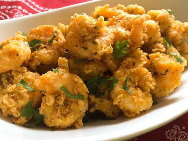gluten free fried shrimp