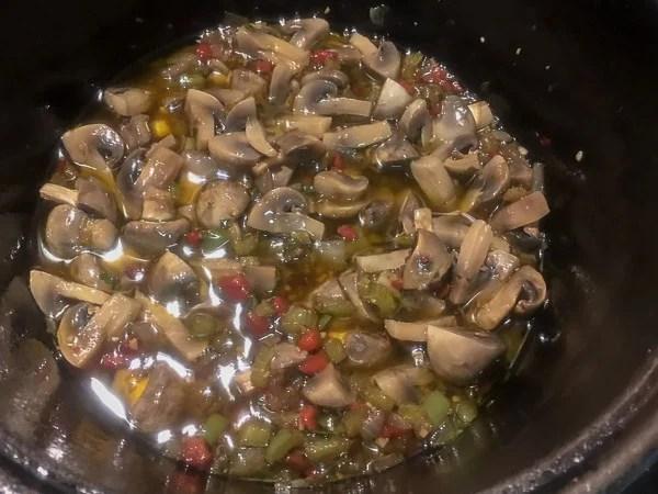 mushroom marinade