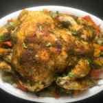Paleo Cajun Slow Cooked Whole Chicken | https://asprinklingofcayenne.com