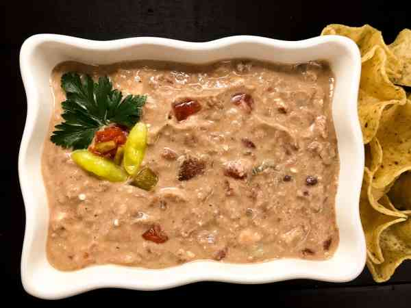 Creole Red & White Bean Dip | http://asprinklingofcayenne.com