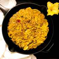 Cajun Smothered Yellow Squash