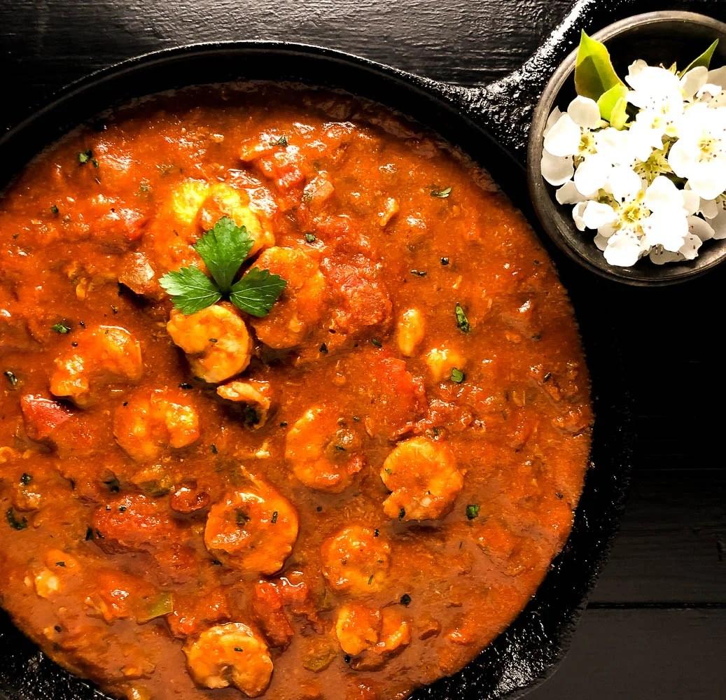 South Louisiana Shrimp Creole