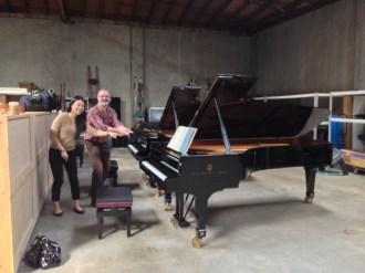 Schumann/Brahms Piano Quintets Recording - Alexander String Quartet & Joyce Yang